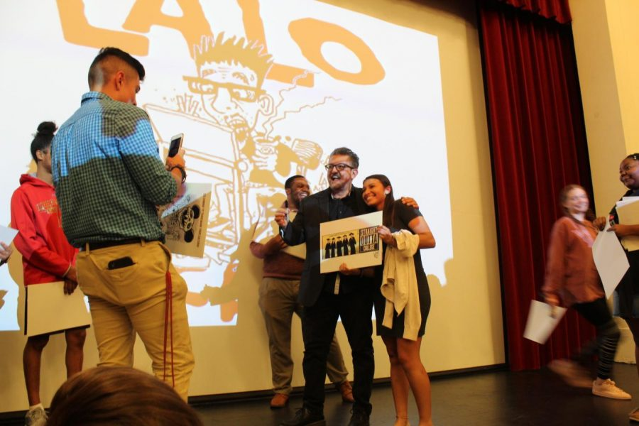Nationally-Syndicated Cartoonist speaks at Bridgewater College