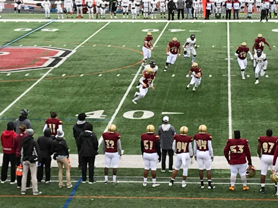Bridgewater Football Loses Playoff Game to Delaware Valley