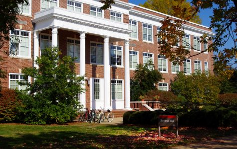 Pictured is Bowman Hall, where many of the programs' courses are scheduled to take place.