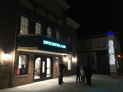 In walking distance of campus, the Town of Bridgewater's new Sipe Center offers discounted movie showings, live events, and a space for community gatherings.