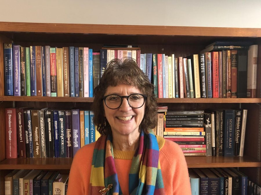 Professor of Philosophy and Religion, Carol Scheppard, has taught at Bridgewater College since 1998. In 2016, Scheppard was named Professor of the College.