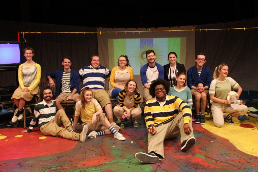 "The Theater at Bridgewater College put on a very challenging, unpredictable and fun play, ""Too Much Light Make the Baby Go Blind."" The play featured 34 different plays, each ranging from 30 seconds to two minute longs and are all to be performed in 60 seconds."