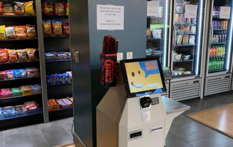 The Aramark Micro Market officially opens allowing students, faculty, and staff to purchase snacks 24/7 based on their convenience.