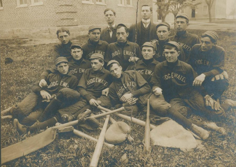 One+of+the+earliest+organized+Bridgewater+College+baseball+teams%2C+circa+1895