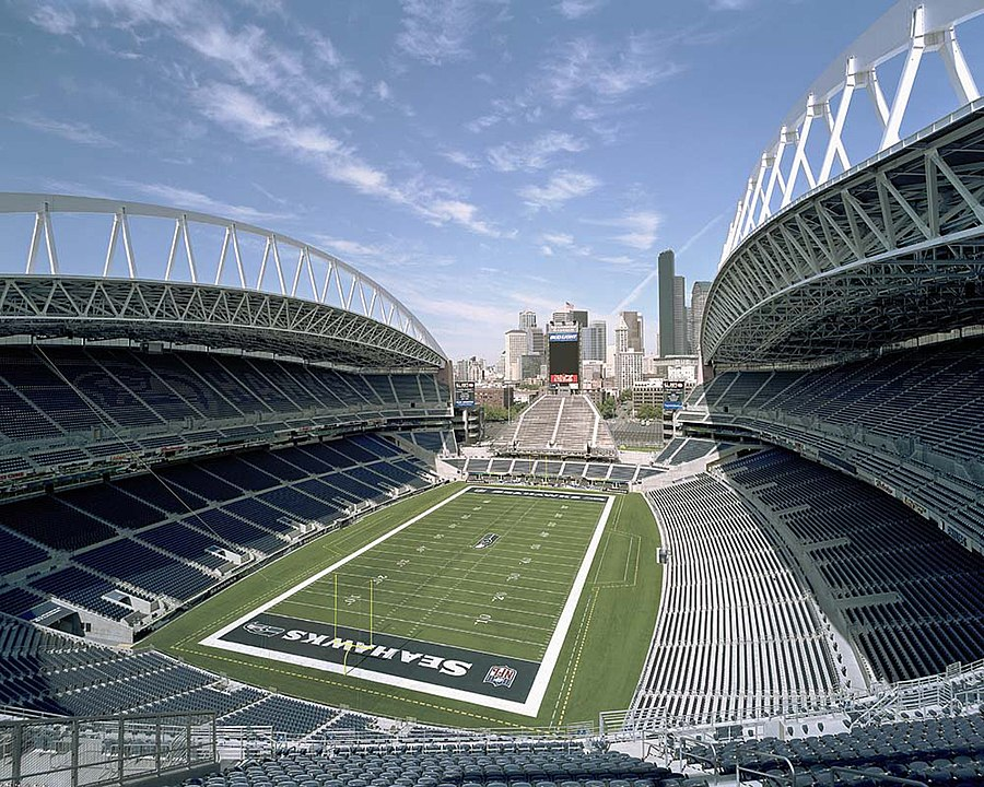CenturyLink Field, home of the Seahawks since 2002