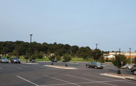 The KCC parking lot after the new parking rules were enacted.