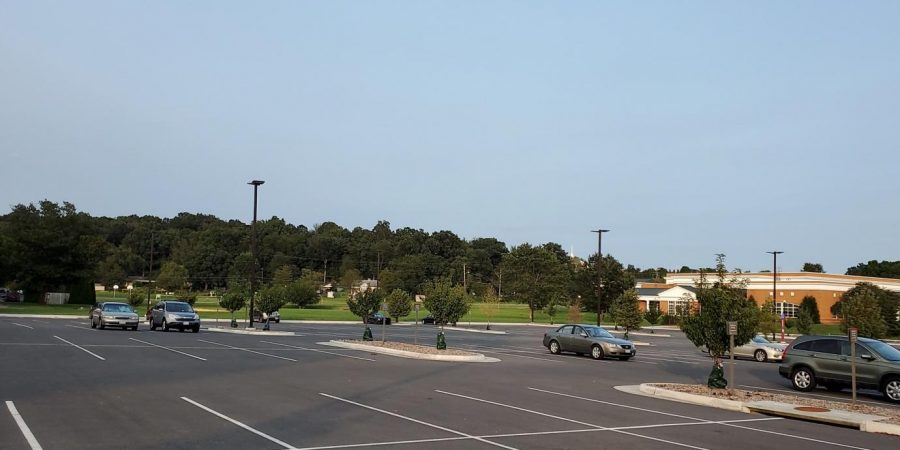 The+KCC+parking+lot+after+the+new+parking+rules+were+enacted.+