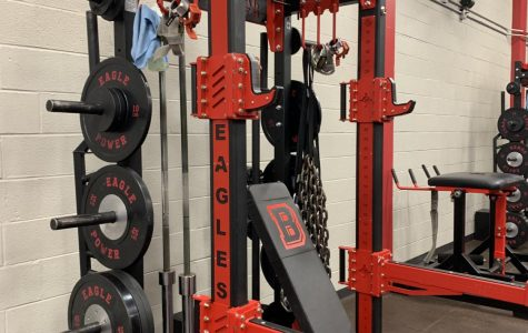Equipment rearrangement in weight room. Enforcing mandatory wipe downs before and after each training session.