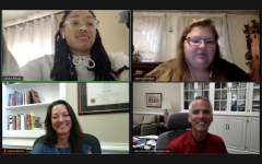 An interview with President Bushman and Provost Sevick on Zoom. Senior Laraya Billups and senior Shaina Breeden ask questions about the final steps of the SRA process.