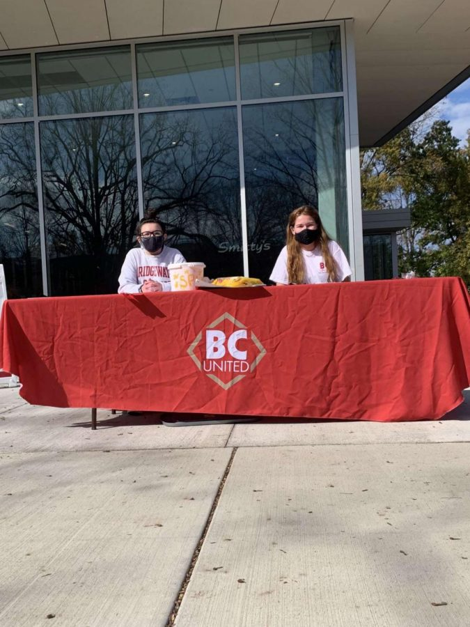 BCUnited tabling event for red flag week