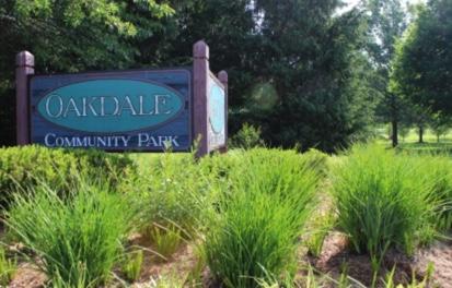 Oakdale Park Sign