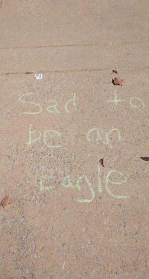 Sad to be an Eagle