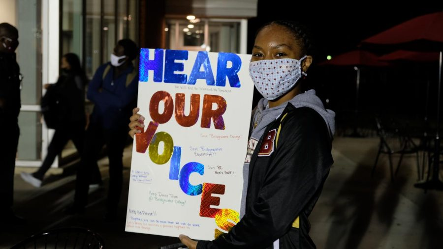 Dance Team Protest Nov. 4, 2020