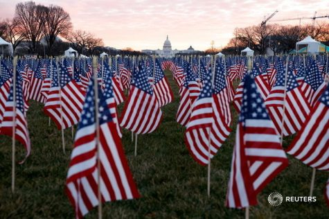 Inauguration flags
