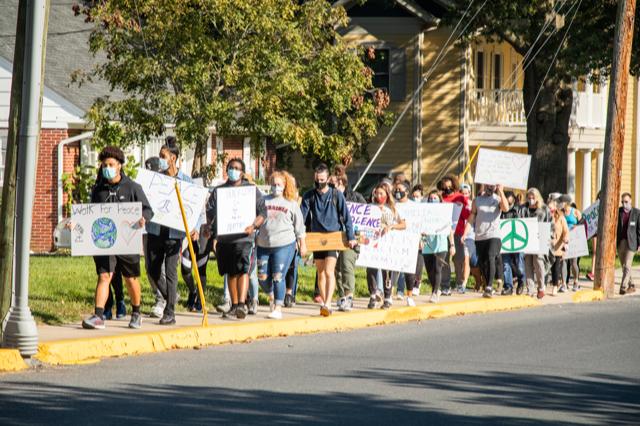 BSA Peace March