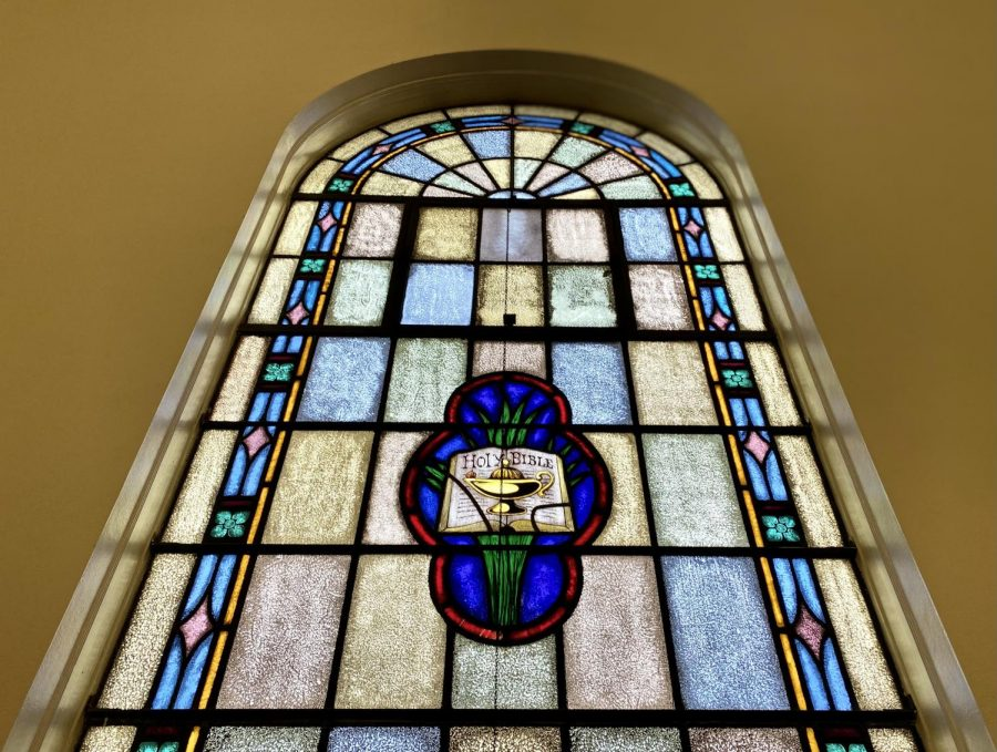 Window at Carter Center