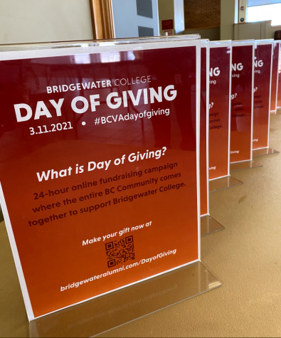 Day of Giving signs