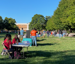 The clubs and orgs fair