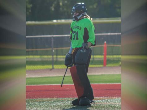 Senior goalkeeper Brooke Hamm