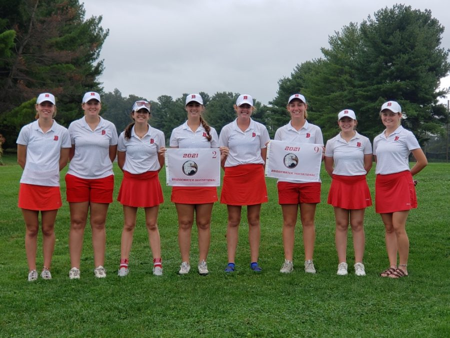 The Womens Golf Team at their Home Event