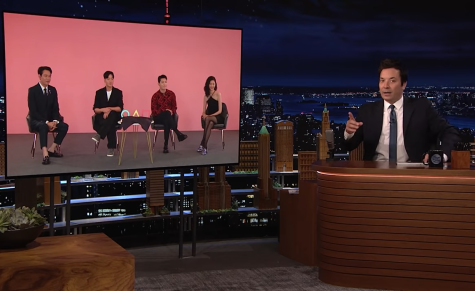 """Stars of """"Squid Game"""" on """"The Tonight Show"""""""